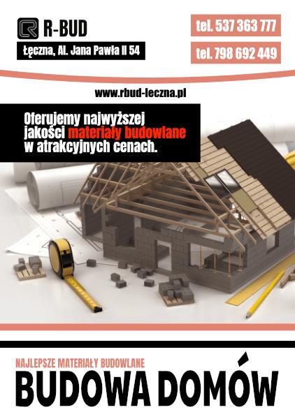 Firma budowlana R-Bud z Łęcznej wykona usługi budowlane w Łęcznej, Lublinie i Lubartowie, a także w innych miastach województwa lubelskiego. Atrakcyjny cennik usług budowlanych