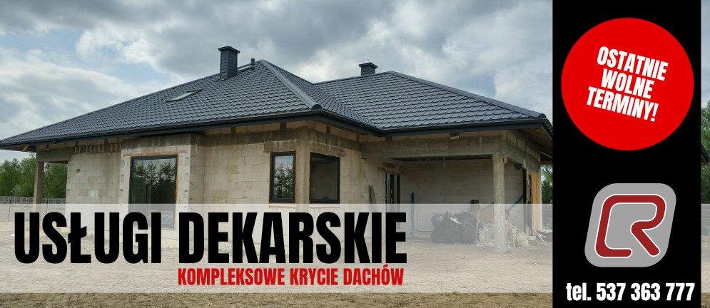 Usługi dekarskie Lublin